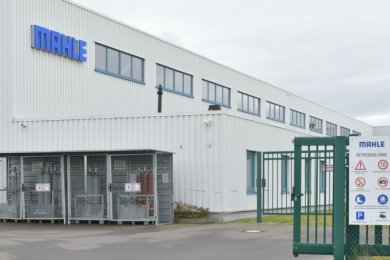 Das Werk von Mahle im Gewerbegebiet Ost soll in der ersten Jahreshälfte 2022 schließen.