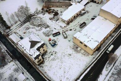Die Tage der ehemaligen Textilfabrik Paul Kürzel an der Crimmitschauer Teichstraße sind gezählt.