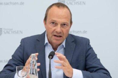 Umweltminister Wolfram Günther.