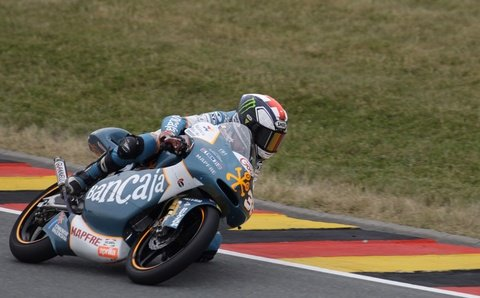 Stefan Bradl ging das Hinterrad bei Tempo 220 ab.