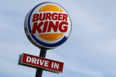 Eine ähnliche Werbereklame der Fast-Food-Kette Burger King soll auch am neuen Standort in Aue errichtet werden.