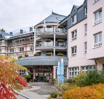 Der Katharinenhof, Haus Quellenhof in Warmbad.