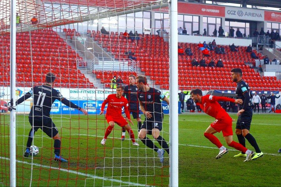 Müller beschert Magdeburg Auswärtssieg beim FSV Zwickau