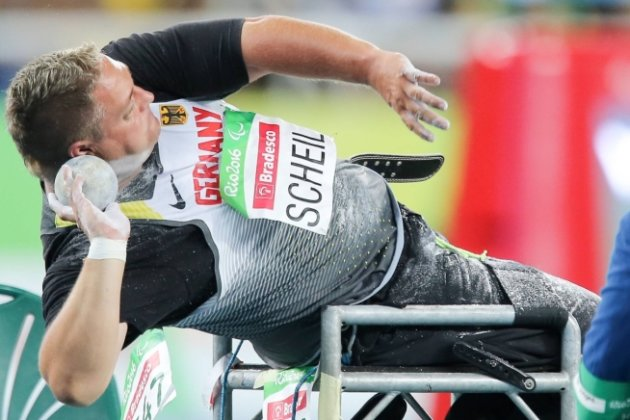 Daniel Scheil entschied die Kugelstoßkonkurrenz in seiner Schadensklasse in Rio bereits mit dem ersten Versuch.