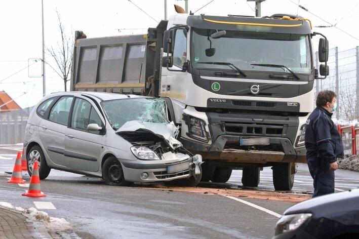 Unfall fordert einen Verletzten