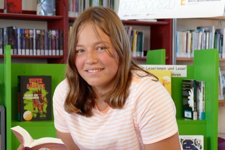 Bücher sind eine große Leidenschaft von Emma Grizenko. Neben dem Lesen pflegt die 13-jährige Grießbacherin aber noch andere Hobbys.