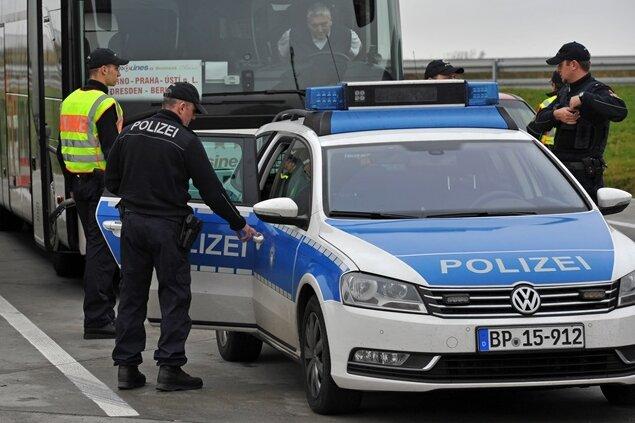 Fast 140 Schleuser an den sächsischen Grenzen gefasst