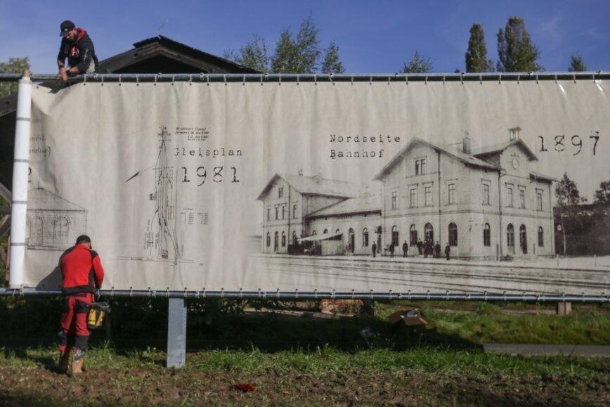 Wo in Limbach einst die Eisenbahn ankam