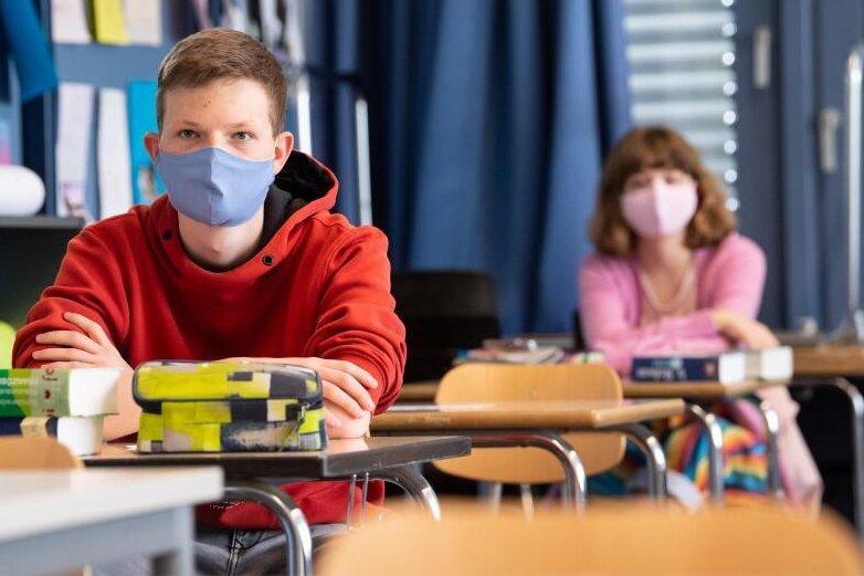 Sachsen verzichtet auf Maskenpflicht an Schulen