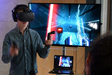 Bei den bisher real veranstalteten Studieninfotagen der Hochschule Mittweida konnten die Besucher auch erleben, wie virtuelle Welten von Computerspielen entwickelt werden. Jetzt veranstaltet die Hochschule erstmals einen komplett virtuellen Studieninfotag.