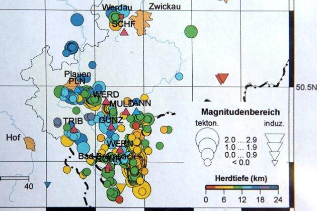 Serie statt Schwarm: Jüngste Erdbeben sprechen für Veränderung