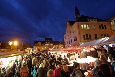 So stimmungsvoll war es auf dem Weihnachtsmarkt 2019 in Hohenstein-Ernstthal.