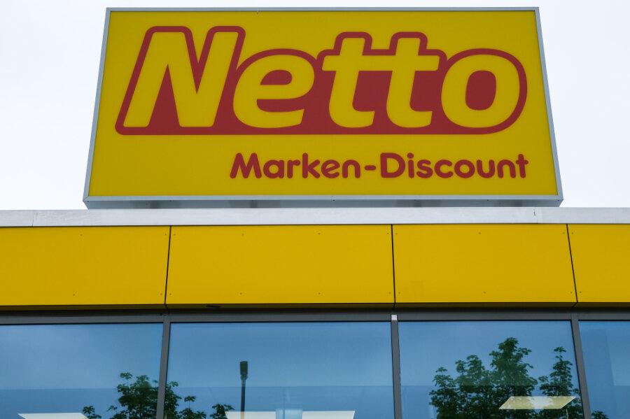 Netto mauert wegen des Neubaus in Jöhstadt