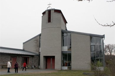 Auch die Versöhnungskirche in Plauen beteiligt sich an der Aktion.