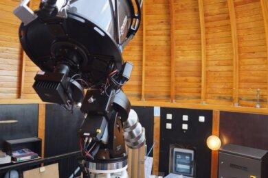 So wird das neue Hauptbeobachtungsinstrument für die Sternwarte in Rodewisch aussehen. Laut Olaf Graf bietet es vielfältige Möglichkeiten der Nutzung.