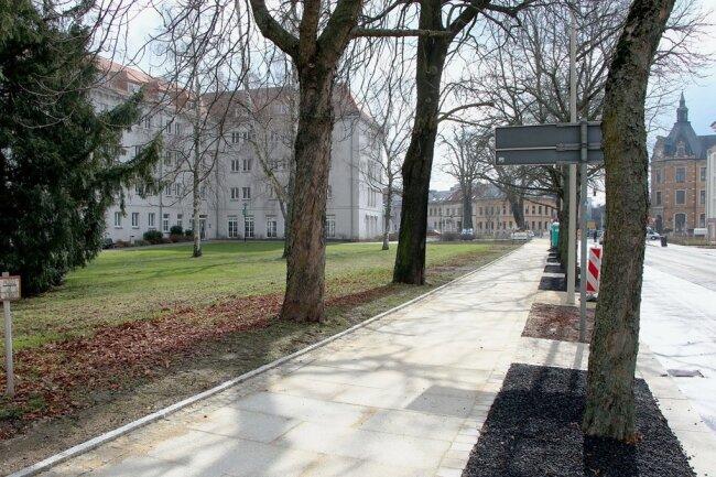 Ein weiterer Abschnitt der Ringgrünanlage ist fertiggestellt worden.