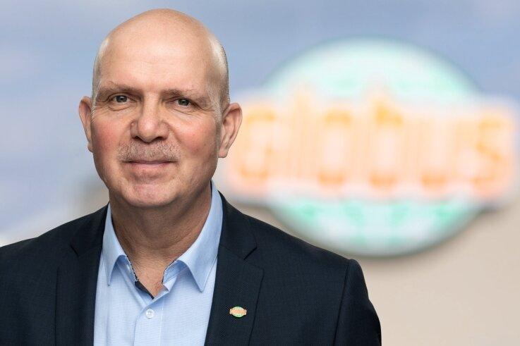 Ein waschechter Vogtländer ist Uwe Wamser - der Chef von rund 19.000 Mitarbeitern allein in Deutschland.
