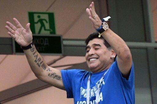 Diego Maradona gibt Entwarnung nach Kreislaufproblemen