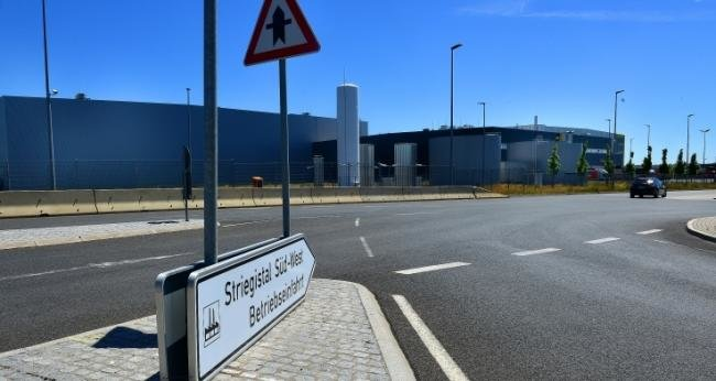 Das Edeka-Zentrallager in Berbersdorf wird ausgebaut.