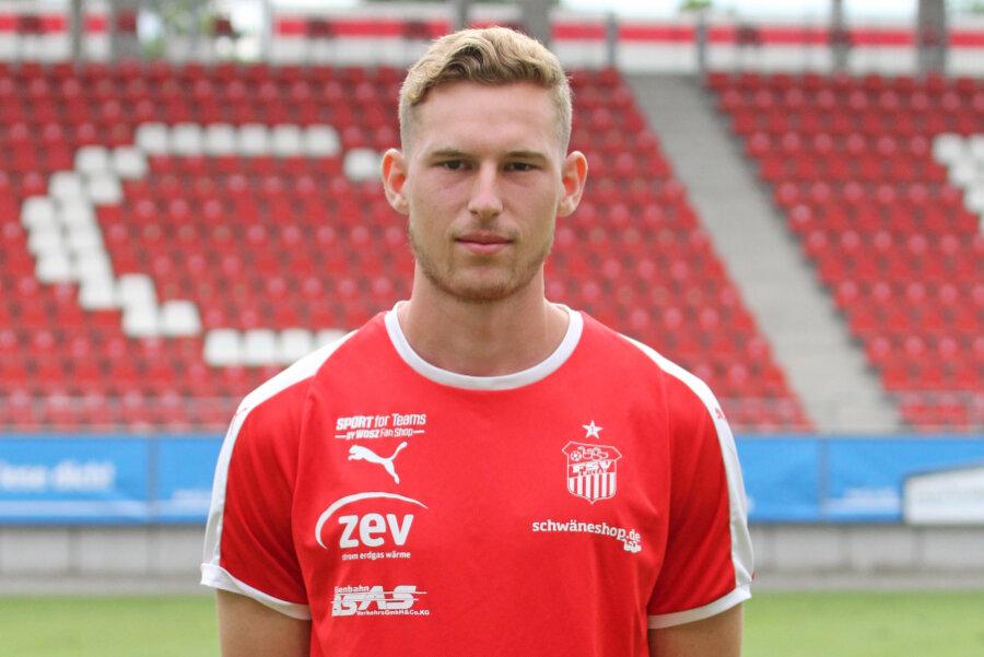 Felix Brand ist der neue Abwehrspieler beim FSV.
