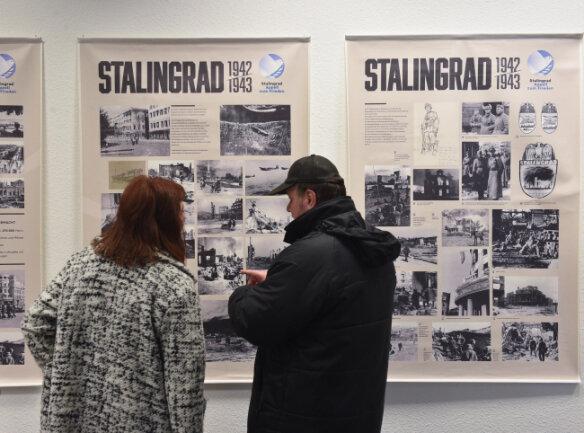 Seltene Fotos und Dokumente zur Schlacht um Stalingrad sind derzeit in Chemnitz zu sehen.