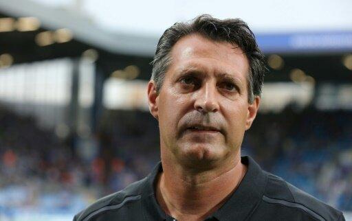 Trainer Alois Schwarz verlor mit seinem Team in Rostock