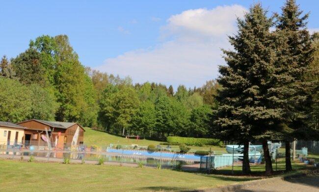 Das Waldbad Rodau liegt idyllisch und ist auch bei Badegästen außerhalb der Gemeinde beliebt.