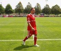 Zurück auf dem Trainingsplatz: Franck Ribery