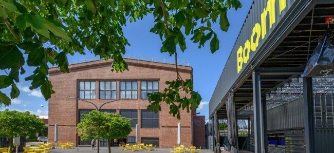 """Soll als """"Besucher-Verteiler"""" für weitere Museen fungieren: Die Landesausstellung """"Boom"""" im Zwickauer Audi-Bau."""