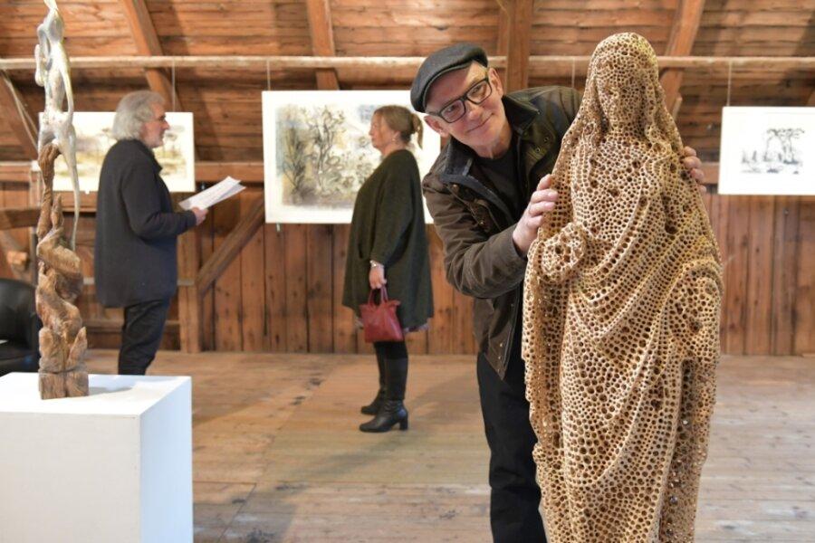 Galerie bietet Kunstgenuss - Blockhausen sorgt für Spaß bei viel Bewegung