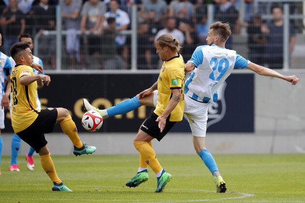 Chemnitzer FC verliert Test gegen Dynamo Dresden