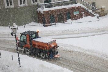 Die Kosten für den Winterdienst in Hainichen haben Rekordniveau erreicht.
