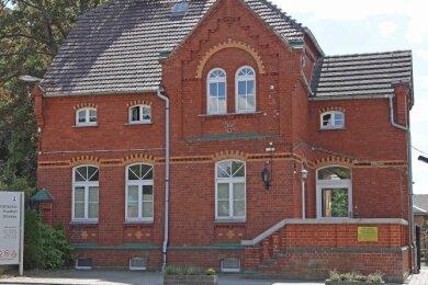 Das Gebäude der Werdauer Friedhofsverwaltung.