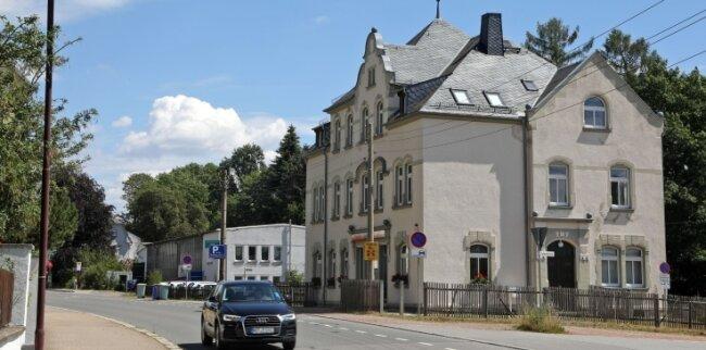 """Die """"Alte Druckerei"""" in Oberlungwitz soll zu einem Wohnprojekt ausgebaut werden."""