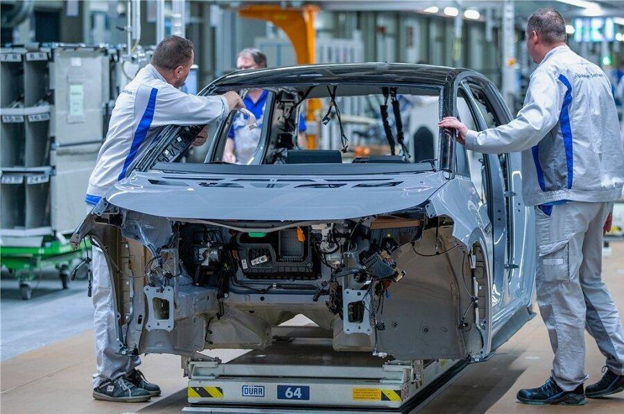 Seit November vergangenen Jahres läuft die Serienproduktion des Elektroautos ID.3 im Volkswagen-Werk in Zwickau.
