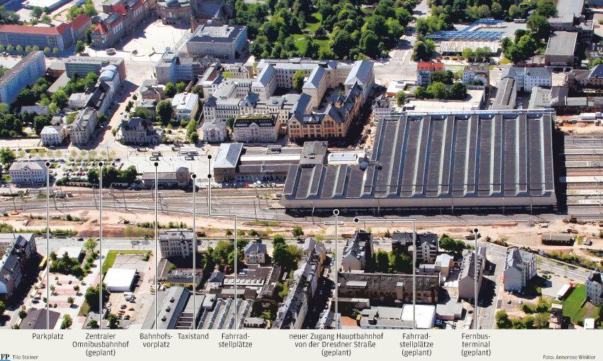 Zug und Bus vereint: So soll der neue Hauptbahnhof aussehen