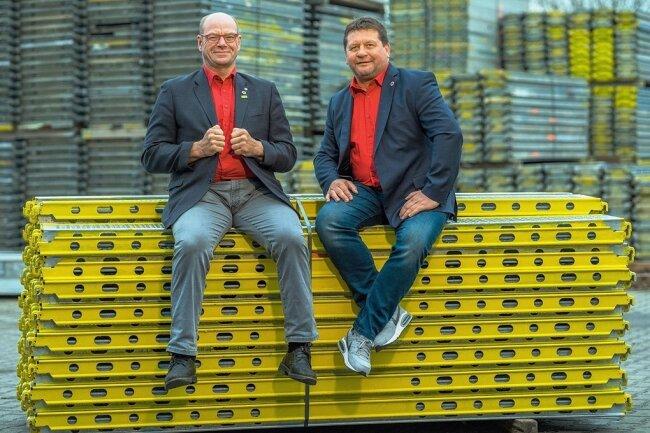 Dirk Eckart und Walter Stuber aus Roßwein