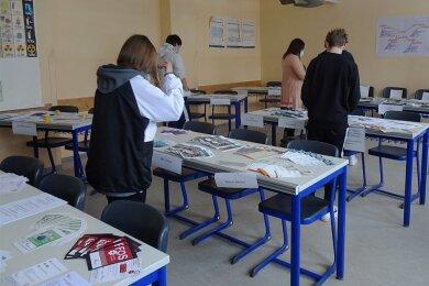 An der Lichtentanner Oberschule wurde improvisiert. So wurde es möglich, trotz Corona eine Berufsorientierungsmesse durchzuführen.