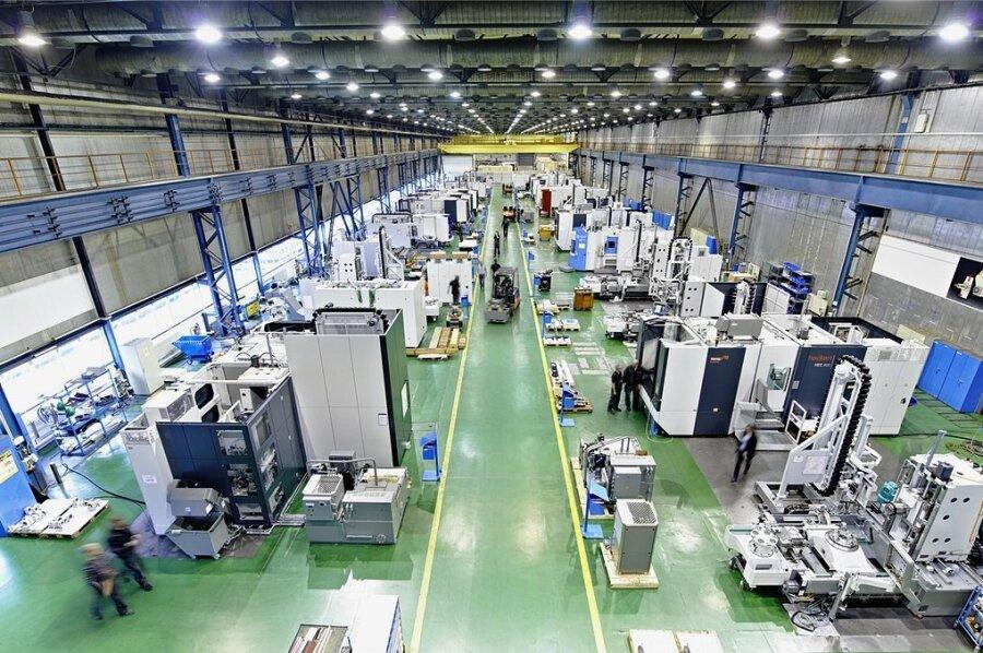 Auftragslage verbessert: Blick in die Produktion des Werkzeugmaschinenbauers Starrag.