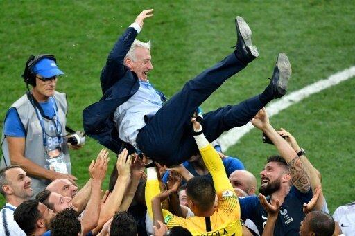 Deschamps gewinnt in Moskau seinen zweiten WM-Titel