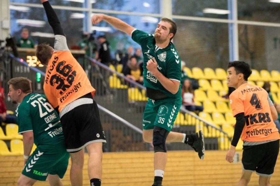 Starker Auftritt: Richard Wolowski warf gegen den VfL Waldheim neun Tore für die HSG II.