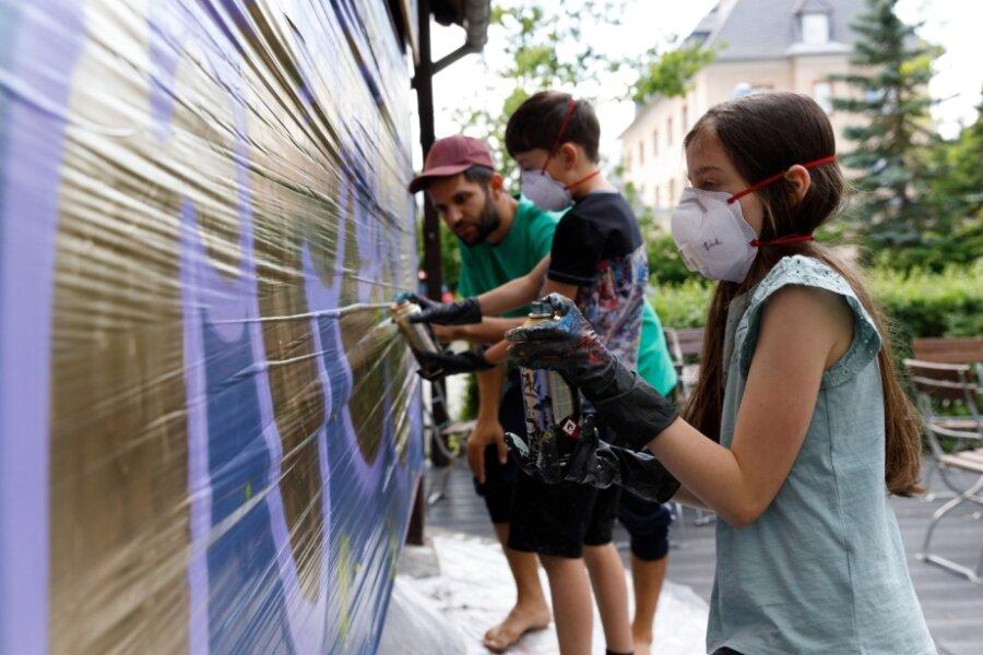 Von Graffiti bis Geschichtsprojekt