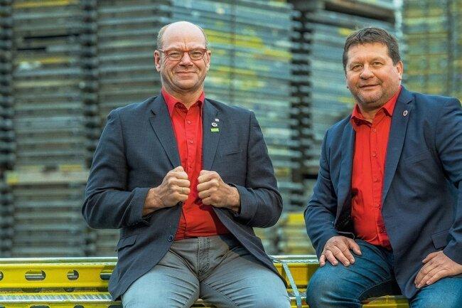 Haben sich zum Ziel gesetzt, das Unternehmertum zu fördern: die Geschäftsführer Walter Stuber (links) und Dirk Eckart.