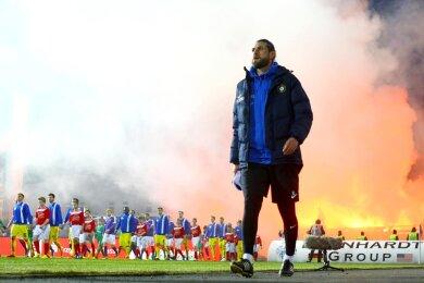 Robin Lenk wird neuer Co-Trainer beim FSV Zwickau.