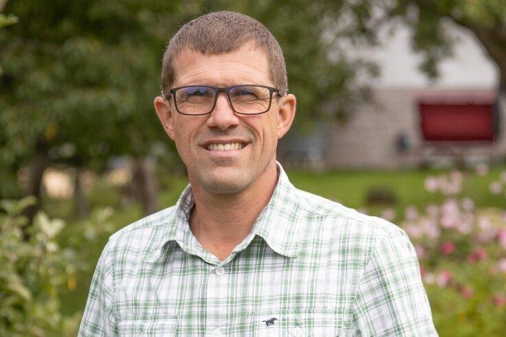 Der bisher amtierende Bürgermeister Andreas Mauersberger (parteilos)