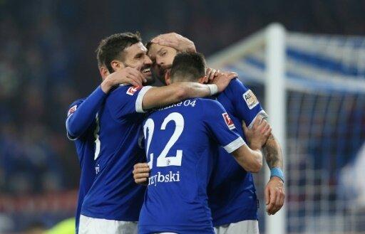 Schalke 04 bejubelt einen Heimsieg gegen Nürnberg