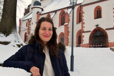 """""""Die Gemeinde hat mich sehr herzlich aufgenommen"""", sagt Pfarrerin Nina-Maria Mixtacki."""