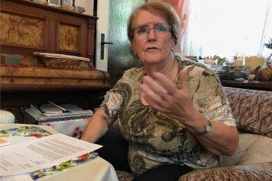 Barbara Jentsch war 29 Jahre lang ehrenamtliche Verwaltungsrichterin in Chemnitz. Wegen des Plakatstreits hat sie ihr Mandat jetzt niedergelegt.