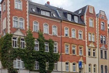 Dieses Gebäude gehört zur Händelstraße in Plauen.