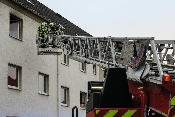 Brand in Auer Wohnung